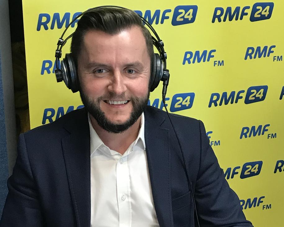 Grzegorz Stanak, dyrektor handlowy Nowej Szkoły. /Marcin Buczek /RMF FM