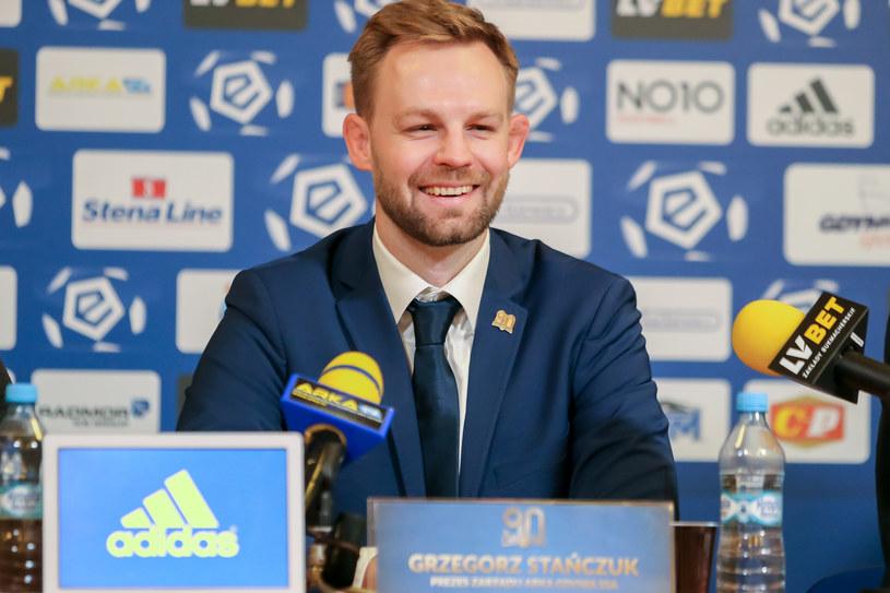 Grzegorz Stańczuk /Tomasz Zasinski / 058sport.pl / NEWSPIX.PL /Newspix