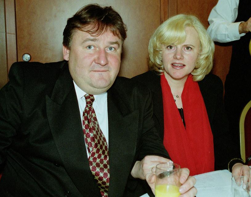 Grzegorz Świątkiewicz i Joanna Kurowska /Studio69 /Agencja FORUM