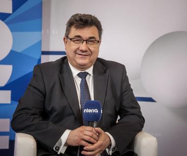 Grzegorz Tobiszowski, wiceminister energii w studiu Interii