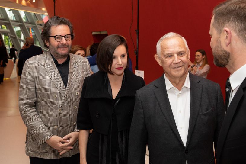 Grzegorz Turnau, Antonina i Marek Kondrat /Jan Graczyński /Reporter