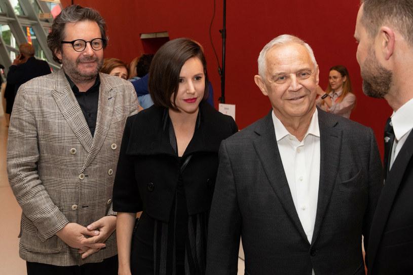 Grzegorz Turnau, Antonina Turnau, Marek Kondrat /Jan Graczyński /East News