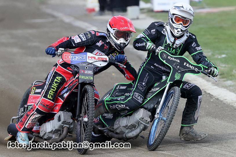 Grzegorz Walasek i Rune Holta /Jarosław Pabijan /Flipper Jarosław Pabijan