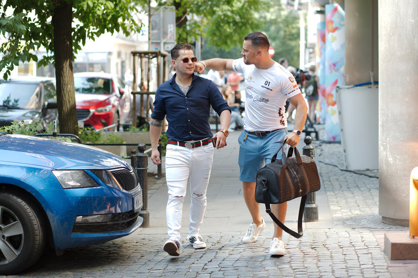 Grzegorz (z lewej) i Rafał Collins /Krzysztof Jarosz /Agencja FORUM