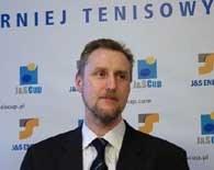 Grzegorz Zambrzycki, prezes największej imprezy tenisowej w Polsce - J&S Cup /INTERIA.PL