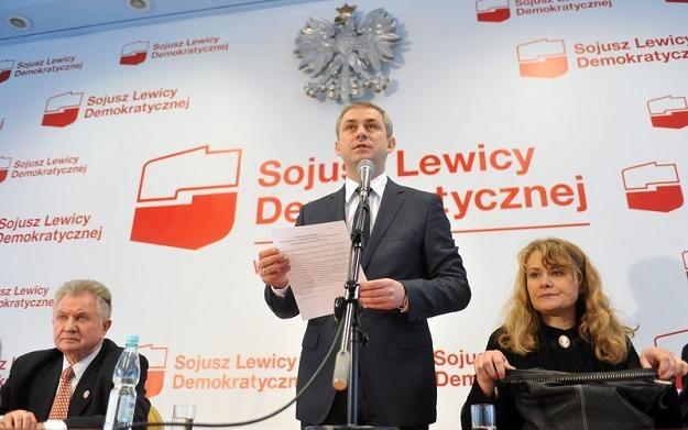 Grzegorzowi Napieralskiemu ufa 51 proc. badanych Polaków, fot. L. Gawuc /Reporter