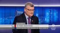 """Grzesiowski w """"Gościu Wydarzeń"""": Liczbę zakażeń musimy przemnożyć co najmniej razy pięć"""