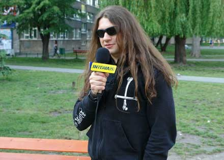 Grzeszny Adam z Hate /INTERIA.PL