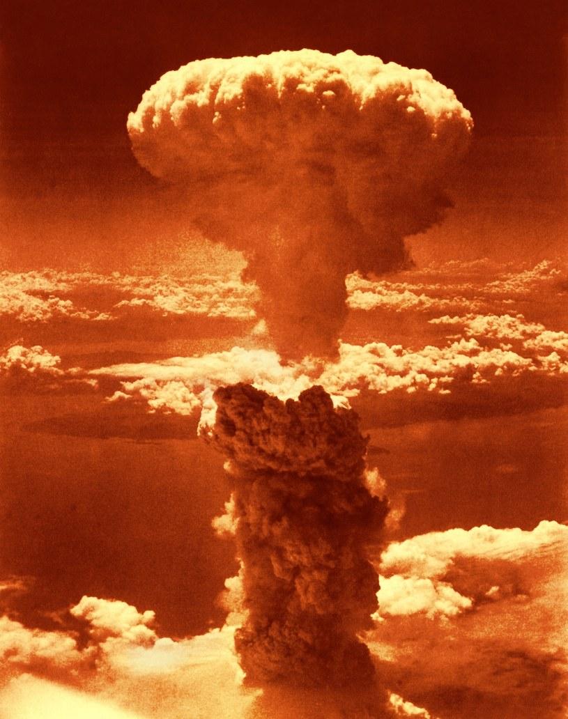 Grzyb po wybuchu bomby atomowej w Nagasaki 9 sierpnia 1945 r. /LIBRARY OF CONGRESS/SCIENCE PHOTO LIBRARY /East News