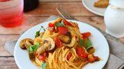 Grzybowe spaghetti