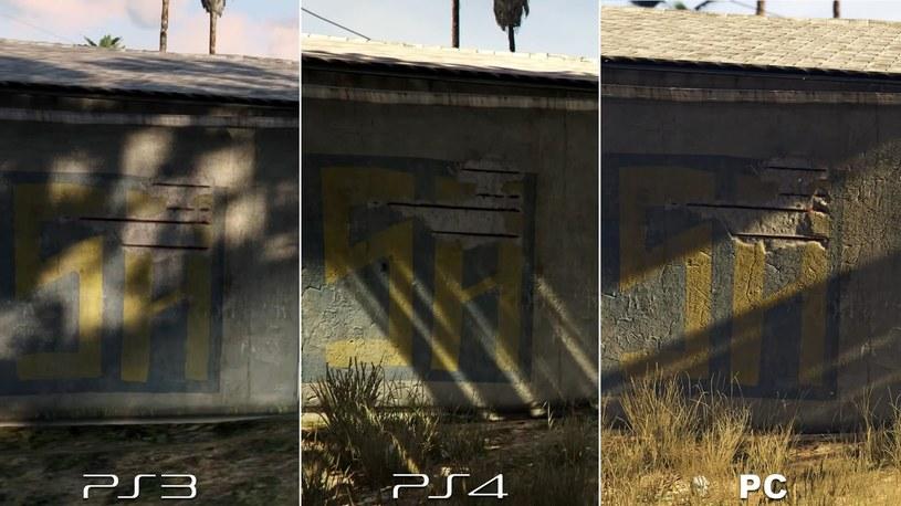 GTA - porównanie wersji PS3, PS4 i PC - zdjęcie zamieszczone w serwisie Reddit przez użytkownika PunxGamer /materiały źródłowe
