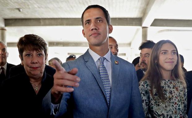 """Guaido nie wyklucza zgody na interwencję USA. """"Zrobimy wszystko, co konieczne"""""""