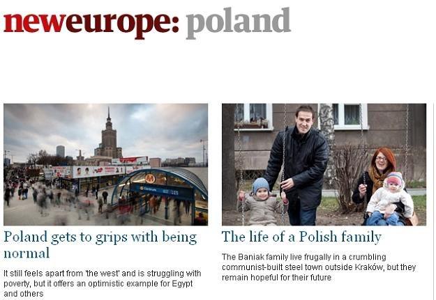"""""""Guardian"""" pisze o Polsce w ramach serii """"Nowa Europa"""" /Internet"""