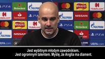 Guardiola: Myślę, że Anglia ma diament. Wideo