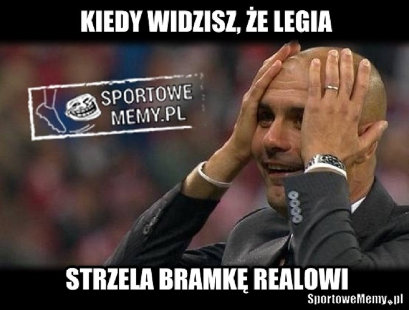 Guardiola w szoku! /Sportowememy.pl /Internet
