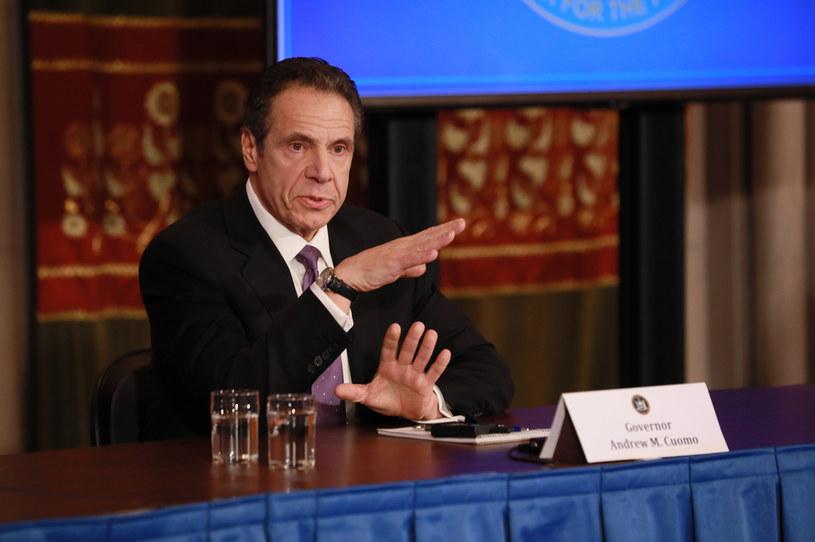 Gubernator Nowego Jorku Andrew Cuomo /AFP