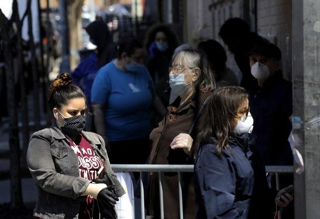 """Gubernator Nowego Jorku: Stan zmierza w stronę """"nowej normalności"""" /Peter Foley /PAP/EPA"""