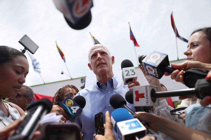 Gubernator stanu Floryda Rick Scott /AFP