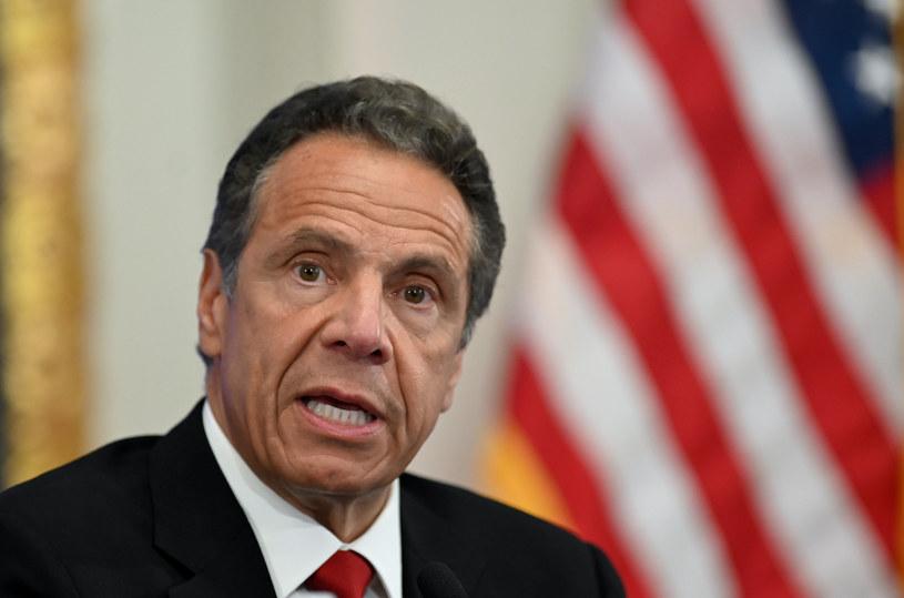 Gubernator stanu Nowy Jork Andrew Cuomo /JOHANNES EISELE / AFP /AFP