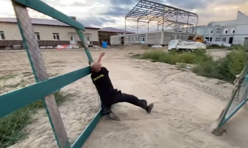 """Gubernatora """"powitał"""" pijany dozorca /Instagram/Oleg Kozhemiako /"""
