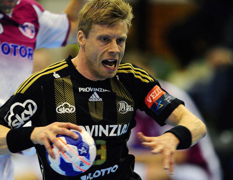 Gudjon Sigurdsson z THW Kiel /AFP