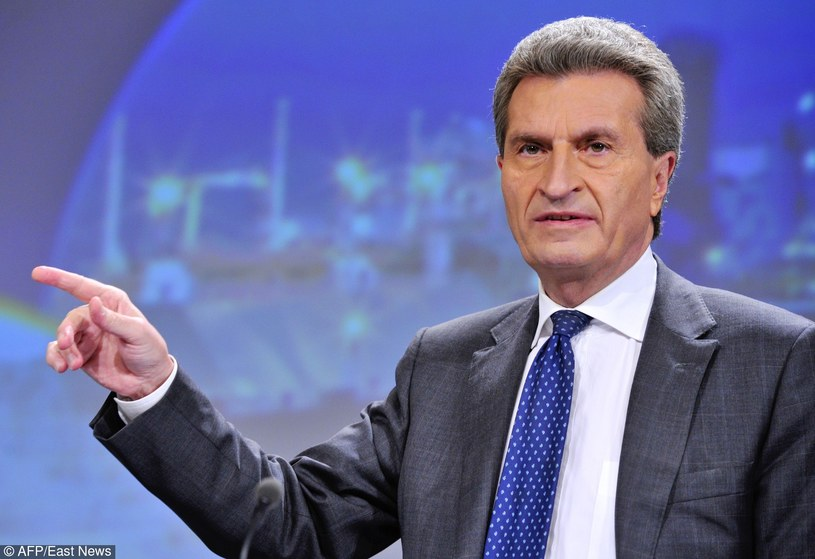 Guenther Oettinger /GEORGES GOBET/AFP /East News
