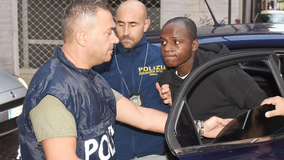 Guerlin Butungu został skazany na 16 lat więzienia /PAP/EPA