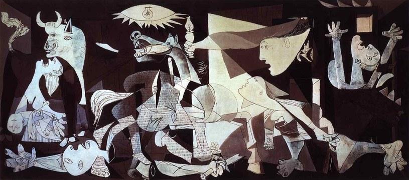 """""""Guernica"""" Pablo Picasso 1937 /źródło: www.pablopicasso.org /INTERIA.PL"""
