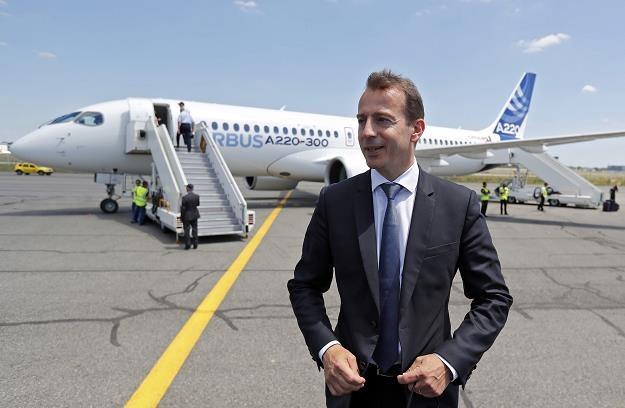 Guillaume Faury, nowy prezes Airbus Commercial Aircraft /EPA