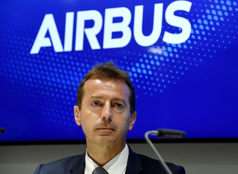 Guillaume Faury, prezes Airbusa /AFP