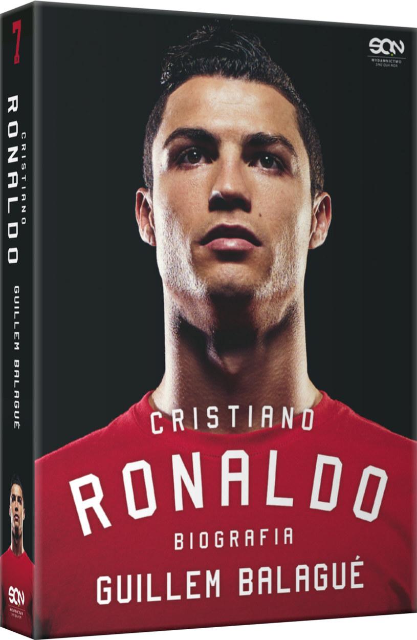 "Guillem Balague ""Cristiano Ronaldo. Biografia"" - okładka /Informacja prasowa"