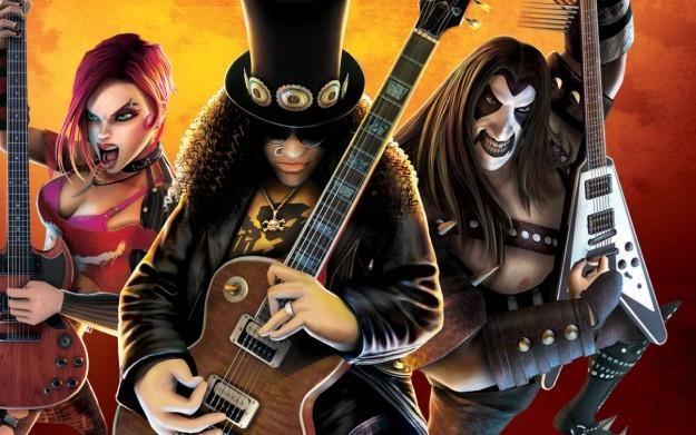 Guitar Hero III: Legends of Rock - motyw graficzny /Informacja prasowa