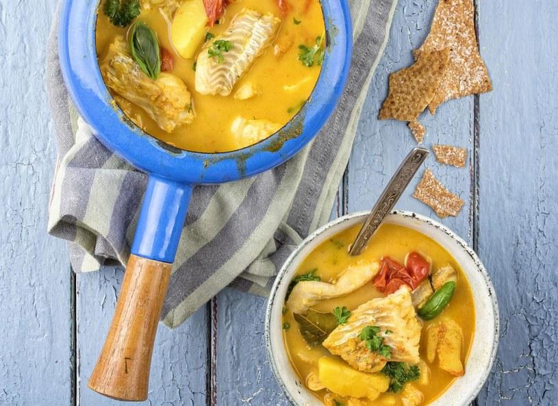 Gulasz z białej ryby w mleku kokosowym /Picsel /123RF/PICSEL