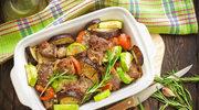 Gulasz z trzech rodzajów mięsa