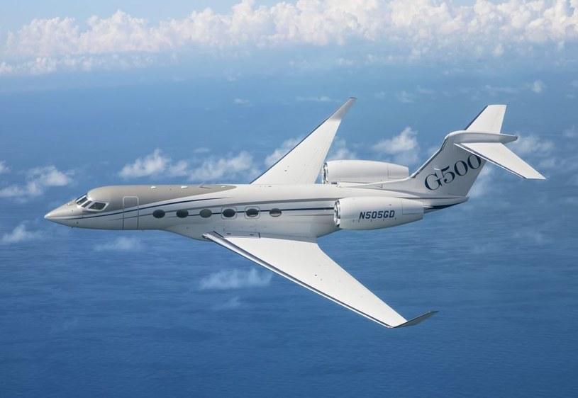 Gulfstream G500 ma zadebiutować w 2017 roku /materiały prasowe