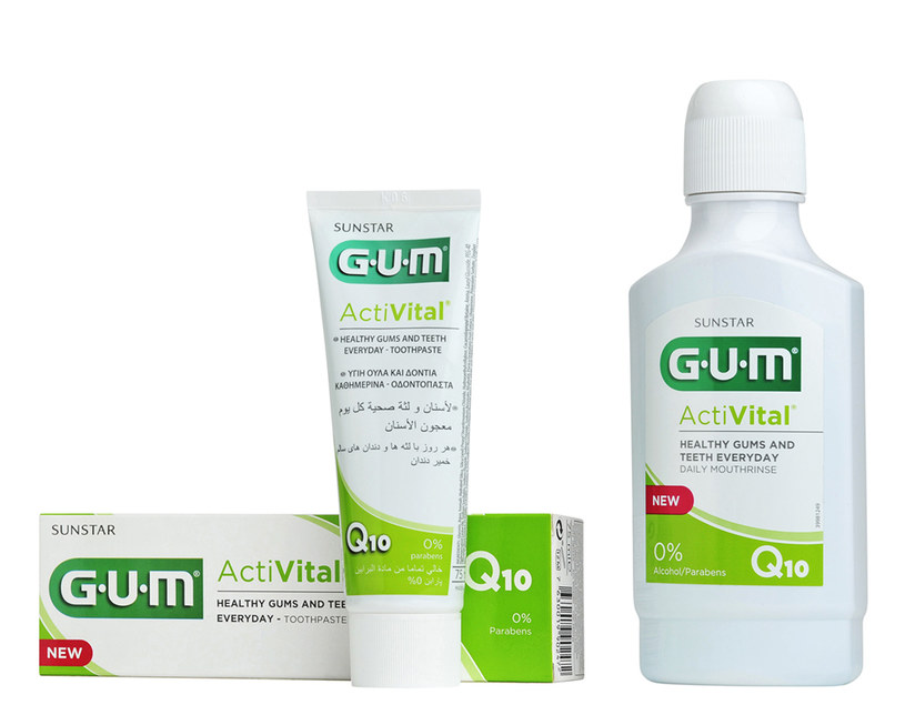 Gum - Sunstar: Acti Vital /materiały prasowe