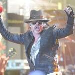 Guns N'Roses: Butle z tlenem i masażystka