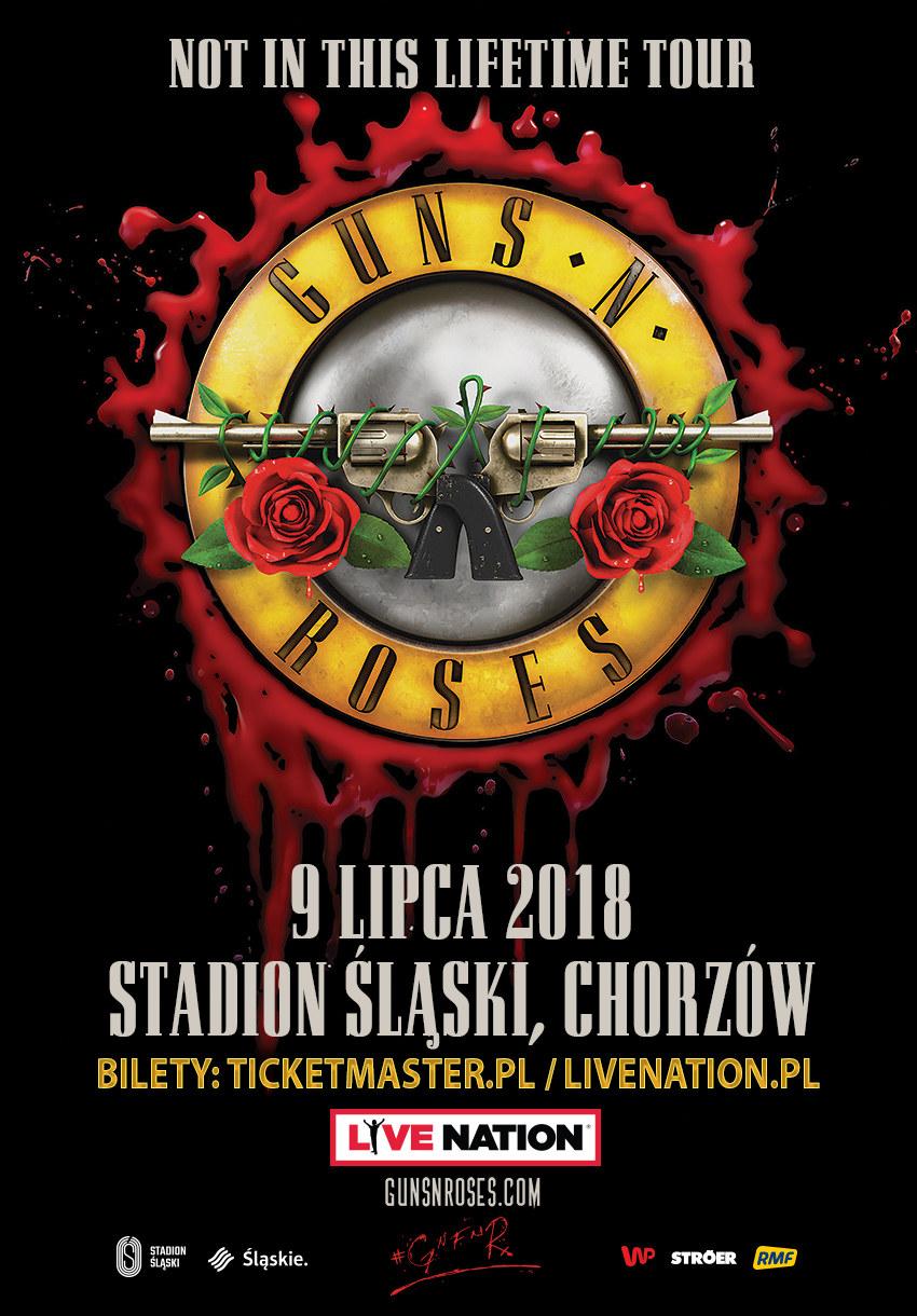 Guns N'Roses wystąpią na Stadionie Śląskim w Chorzowie 9 lipca 2018 roku /Materiały prasowe