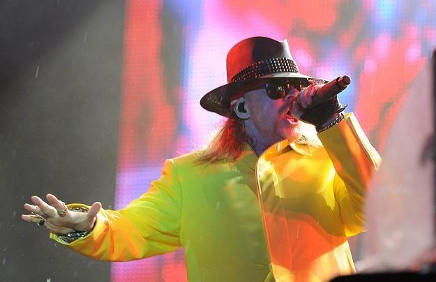 Guns N'Roses zagra w środę wieczorem na Stadionie Miejskim w Rybniku /AFP