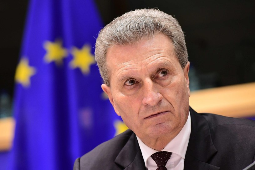 Günther Oettinger /AFP