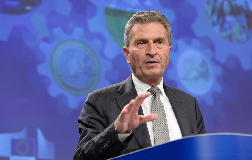Günther Oettinger / THIERRY CHARLIER /AFP
