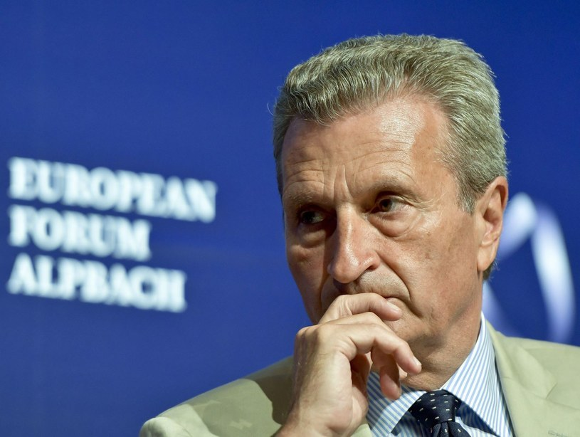Gunther Oettinger /AFP