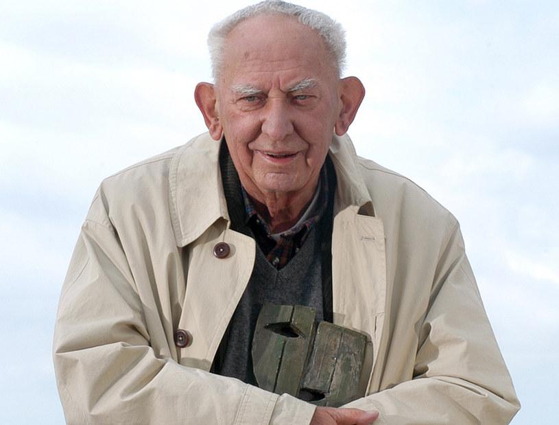 Gustaw Holoubek, 2006 rok /Mikulski /AKPA