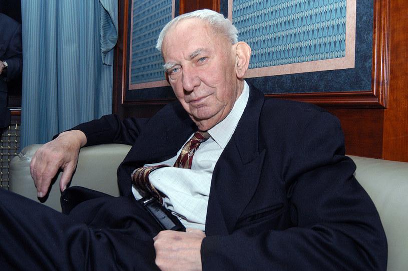 Gustaw Holoubek, 2006 rok /Prończyk /AKPA