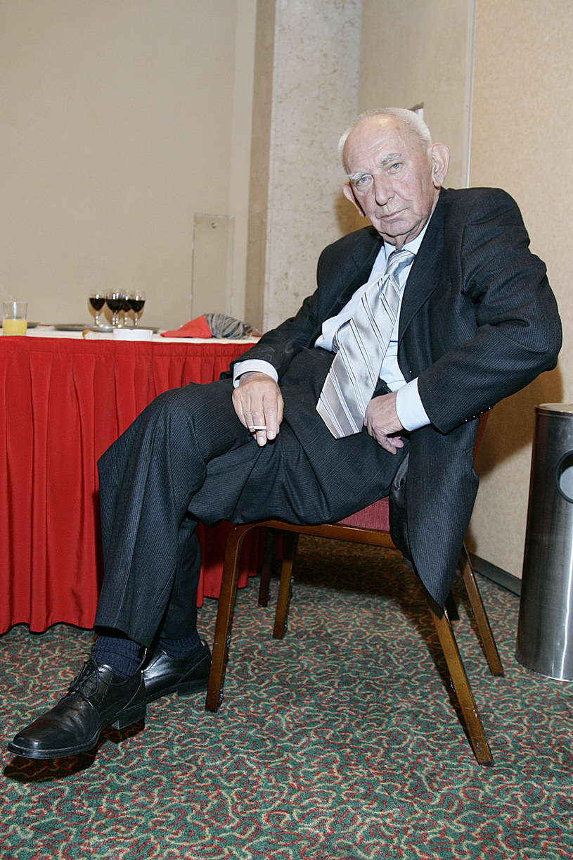 Gustaw Holoubek, 2007 rok /Grabczewski /AKPA