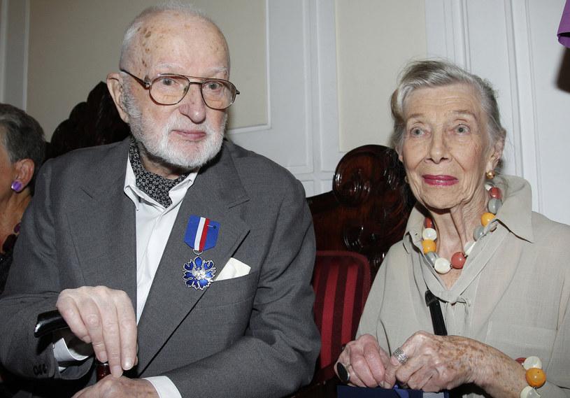 Gustaw Lutkiewicz i Wiesława Mazurkiewicz /AKPA
