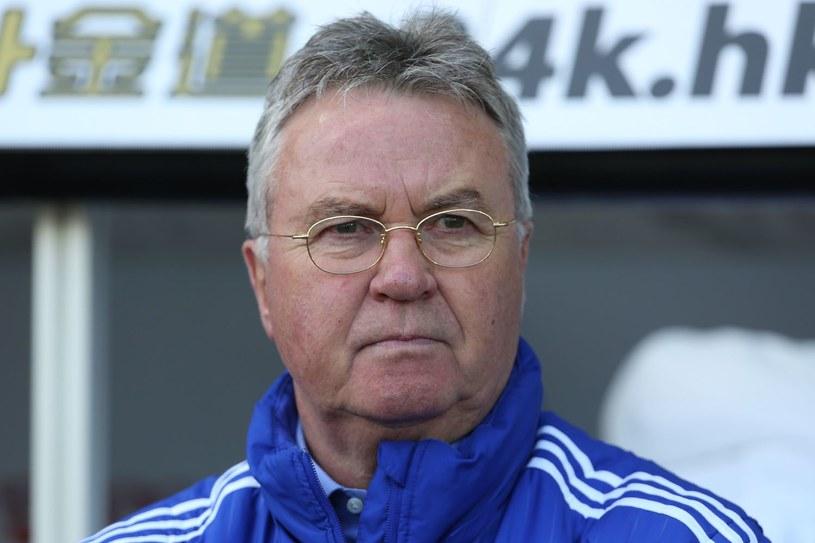 Guus Hiddink jako menadżer Chelsea Londyn /AFP