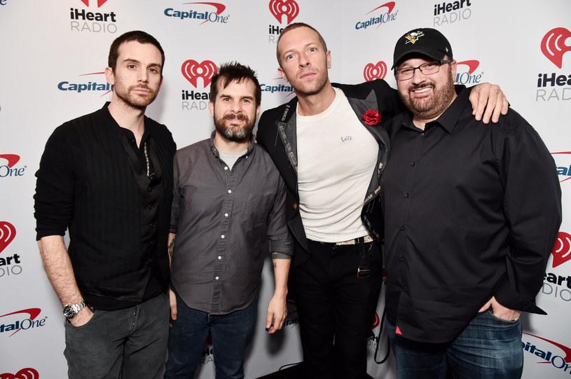 Guy Berryman (pierwszy z lewej) zdradził, jak wyglądała praca nad nową płytą Coldplaya /Alberto E. Rodriguez /Getty Images
