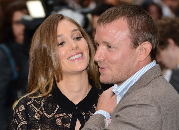 Guy Ritchie i Jacqui Ainsley /Getty Images