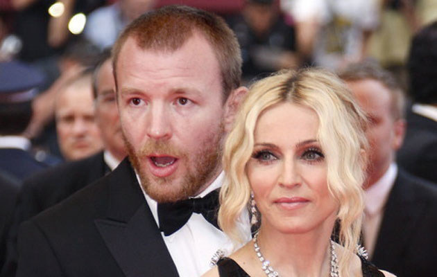 Guy Ritchie i Madonna   /AFP